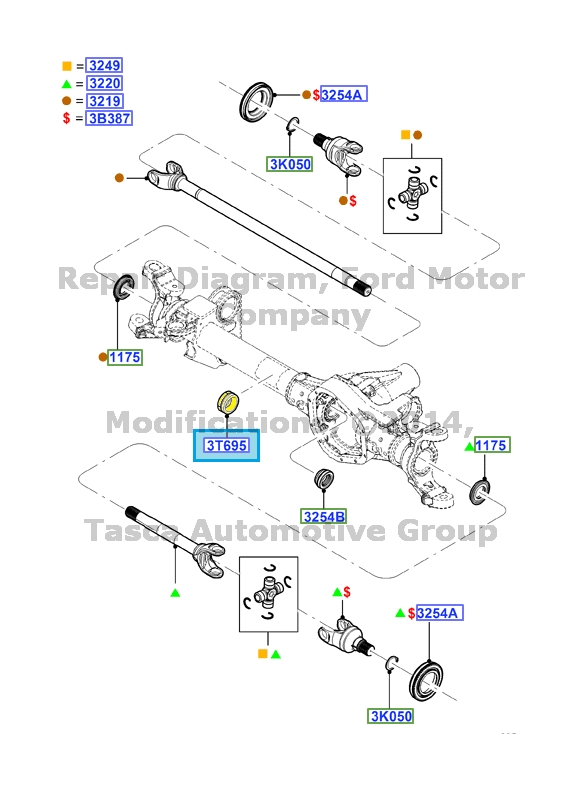 Toyota Oem Front Axle Manual Guide
