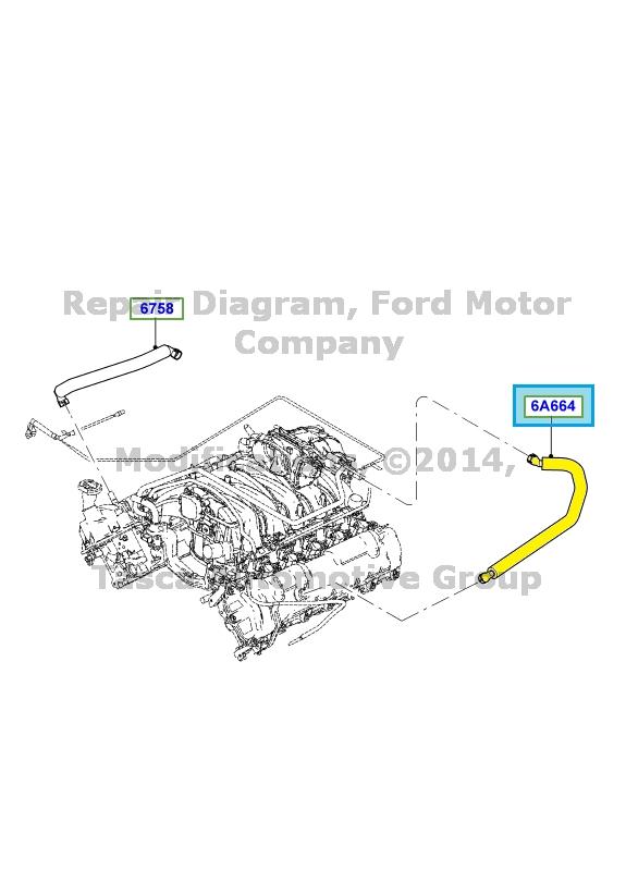 ford 6 8l engine diagram