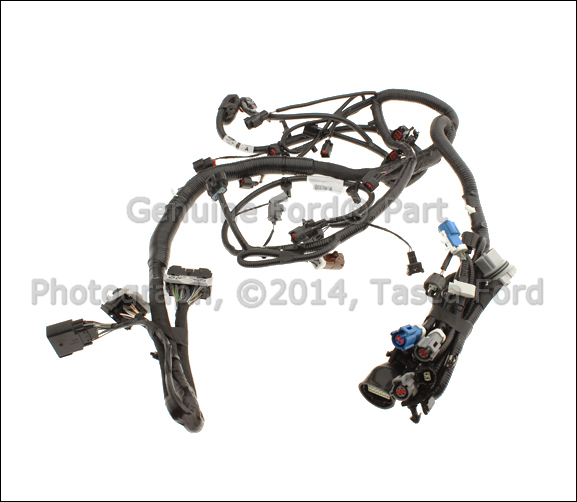 0 new oem engine wiring harness 2008 2009 ford explorer sport 2000 ford explorer engine wiring harness at reclaimingppi.co