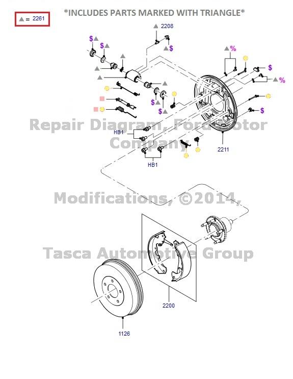 new oem rear drum brake wheel cylinder ford escape mercury ... nissan brakes diagram mercury brakes diagram