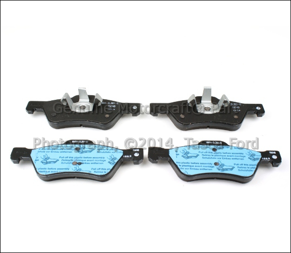 Image Is Loading New Oem Front Brake Pads 2005 2017 Ford