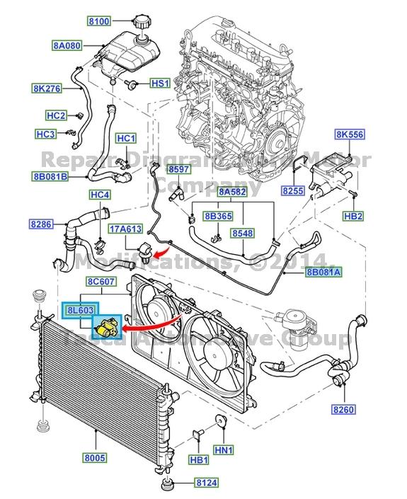 NEW OEM RADIATOR FAN & MOTOR RESISTOR 2010-14 FORD TRANSIT ...