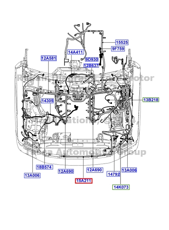 ford f 250 wiring harness diagram 24h schemes  new oem fog light wiring for ambient air temp sensor f250