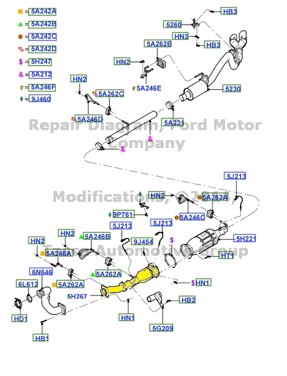 Image Is Loading Newoemcatalyticconverter64ldiesel2008: 2008 Ford F 250 Exhaust System At Woreks.co