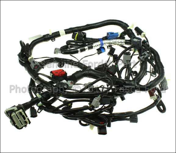 oem new main engine wiring harness 5 0l f