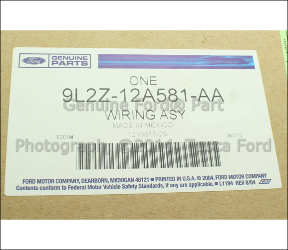 2 new oem 4 6l engine wiring harness ford explorer sport trac 2000 ford explorer engine wiring harness at reclaimingppi.co