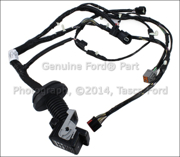 1 new oem rh passenger side front door jumper wire wiring harness 1984 F150 Wiring Diagram at crackthecode.co
