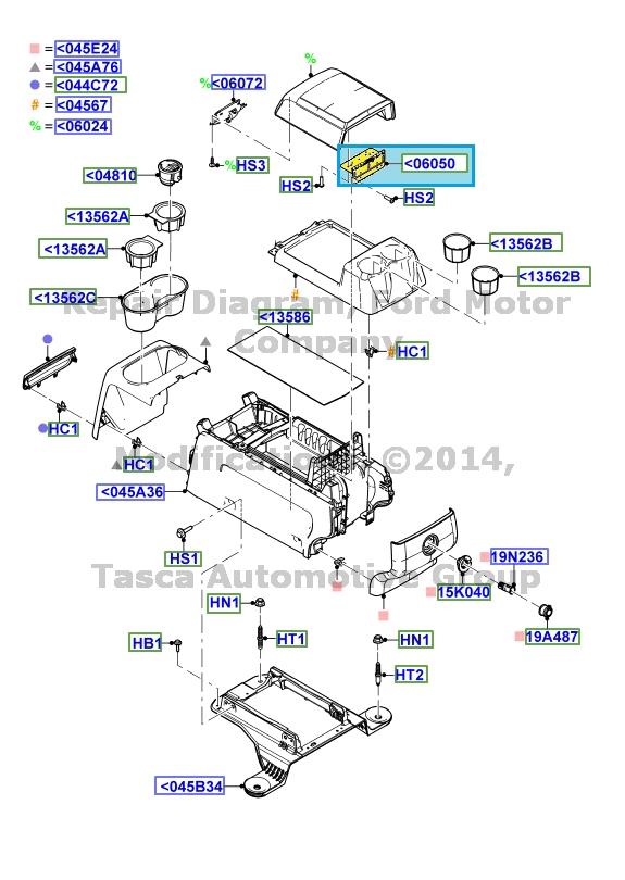 8 ford oem console hinge 9l3z1506050aa image 21 ebay