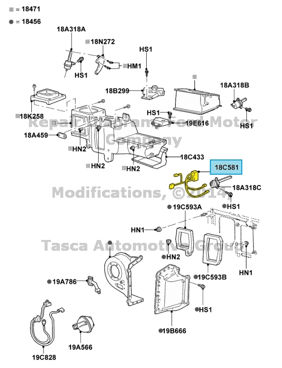 new oem heater  u0026 ac 5 vacuum line wiring harness ford