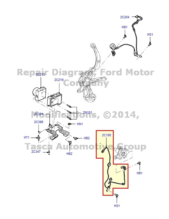 Details about ND NEW OEM REAR LH ABS SENSOR FUSION MILAN ZEPHYR MKZ on