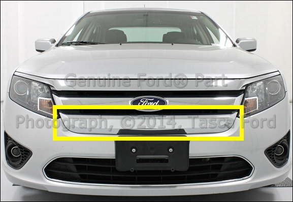 Brand New Oem Chrome Front Lower Grille 2010