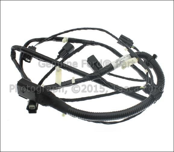 genuine ford oem parking aid system wiring harness 2010 16. Black Bedroom Furniture Sets. Home Design Ideas