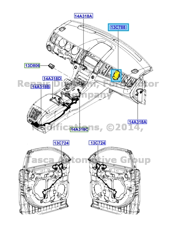 07 lincoln mkx fuse diagram