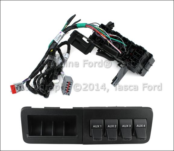 New Oem In Dash Upfitter Switch Kit 201115 Ford F250 F350 F450 F550 Rhpicclick: Ford F 350 Upfitter Switches Location At Gmaili.net