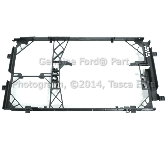 NEW OEM A/C CONDENSER BRACKET FRAME 2011-2014 FORD F150 WITH ...
