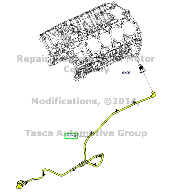 brand new oem engine block heater wiring 2011