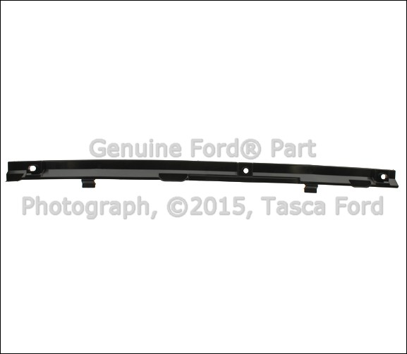 new oem radiator lower support air deflector 2012