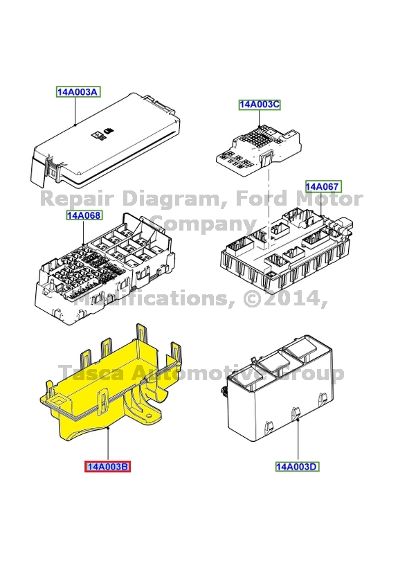 new oem engine compartment pdb fuse box bottom cover 2010 2013 ford new oem engine compartment pdb fuse box bottom
