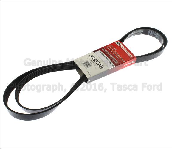 brand new oem serpentine drive belt 2005 2010 ford mustang. Black Bedroom Furniture Sets. Home Design Ideas