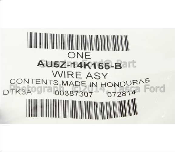 3 new oem lh front seat side air bag wiring harness ford lincoln airbag wire harness connectors at aneh.co