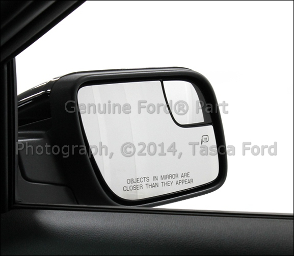 New Oem Rh Exterior Rear View Mirror Glass 2011 13 Ford