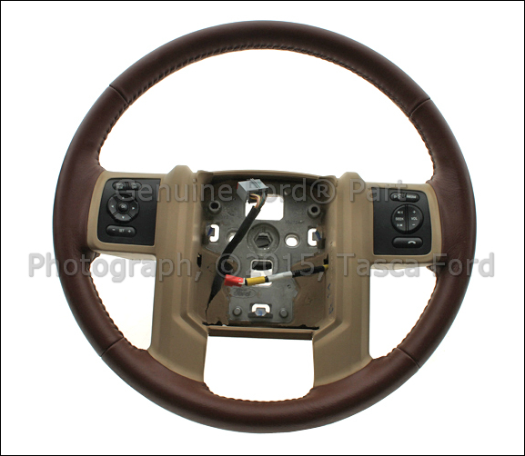 New Oem Leather Wrapped Steering Wheel 20112012 Ford F250 F350 F450. Is Loading Newoemleatherwrappedsteeringwheel20112012. Ford. Ford F250 Steering Wheel Schematic At Scoala.co