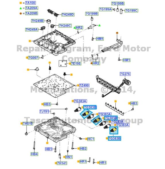 ford f350 transmission solenoid