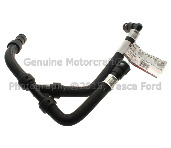 new oem heater core outlet hose 2011
