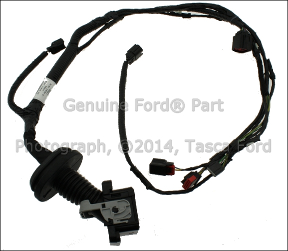 1 new oem right side front door wiring harness 2011 2014 ford f150 Ford F-150 Trailer Wiring Harness at bakdesigns.co
