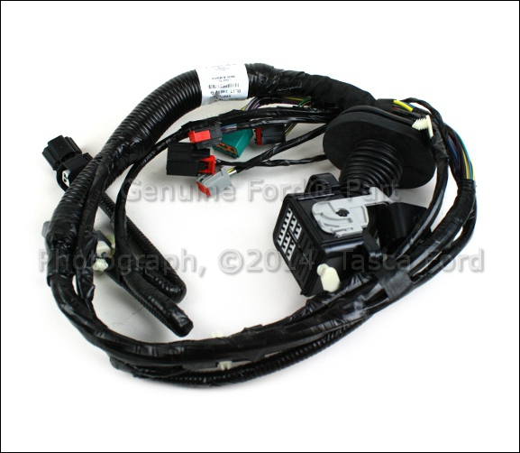1 brand new oem driver side front door panel wiring harness 2011 2012 f150 door wiring harness at bayanpartner.co