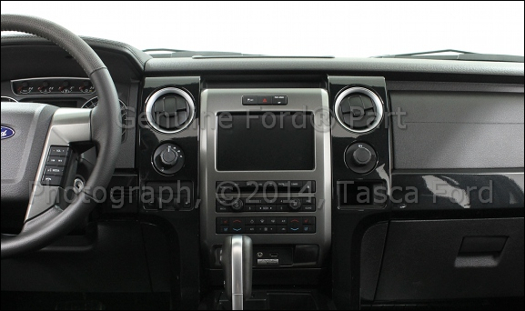 New Radio and Climate Surround Trim Bezel 11 13 Ford F 150 BL3Z 1504302 MA