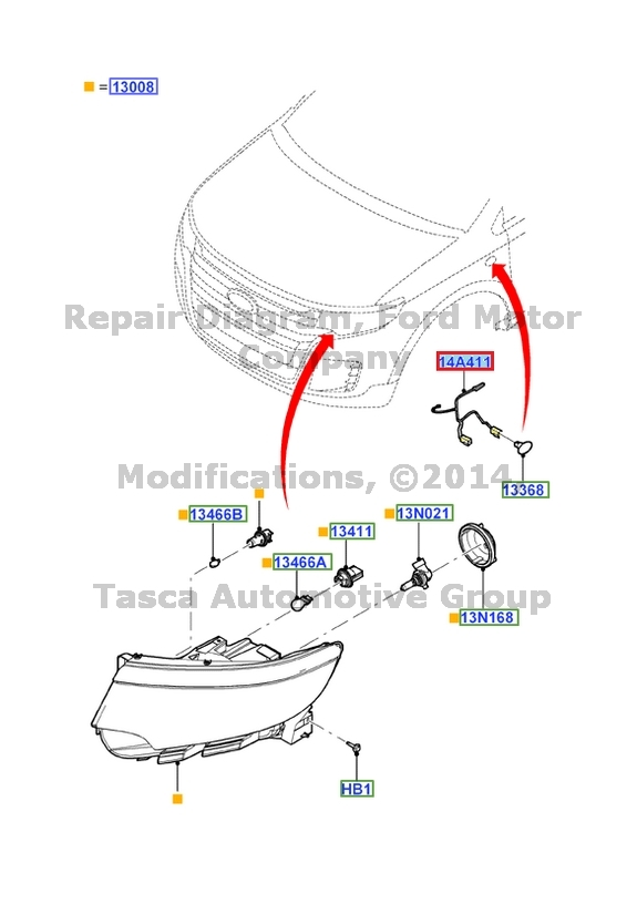 oem chassis wire harness jumper 2011
