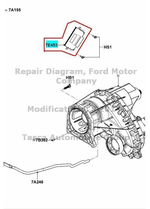 0 ford oem 12 14 f 150 transfer case control module cl3z7e453gd ebay