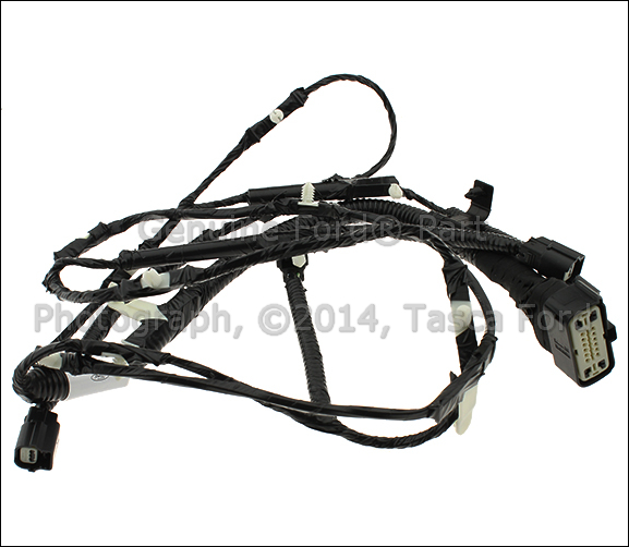 Remarkable New Oem Reverse Proximity Sensor Jumper Wiring Harness 2013 2015 Wiring Digital Resources Antuskbiperorg