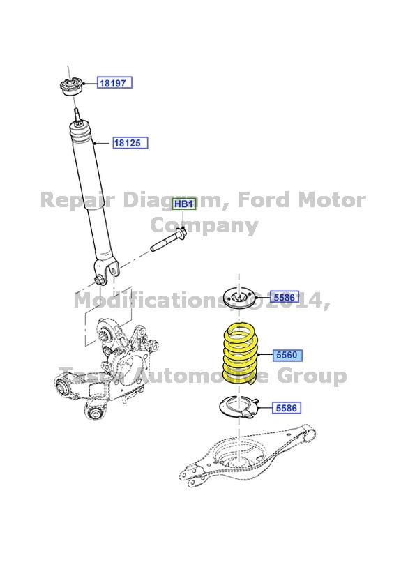 Ford Explorer Rear Suspension Diagram - Drivenheisenberg