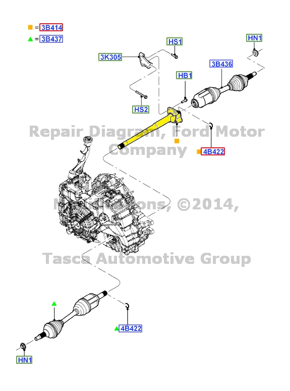 2010 Ford Flex Engine Diagram