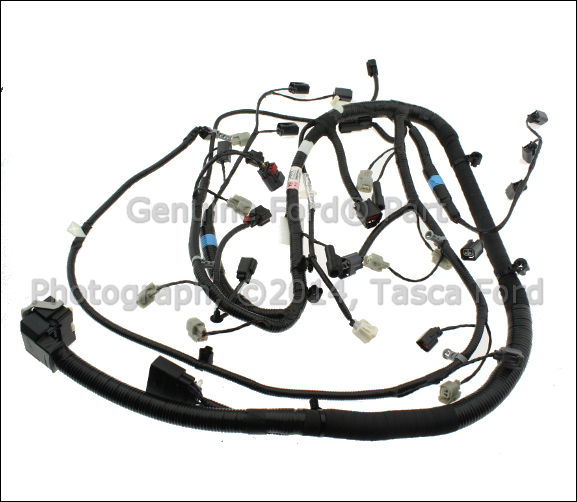 0 new oem main engine wiring harness ford mustang fusion hybrid ford wiring harness at metegol.co