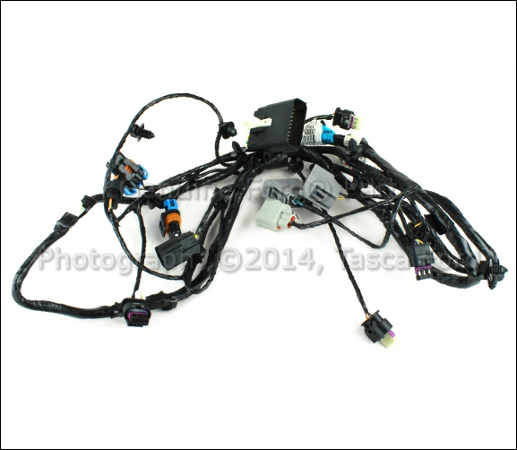 new oem parking aid  u0026 fog light wiring harness 2013 ford