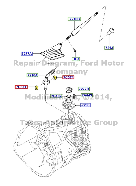 new oem manual trans shifter guide ford fsd f series sd