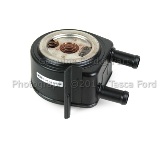 Brand new oem oil cooler ford f150 f250 f350 e150 e250 for Motor oil for ford f150