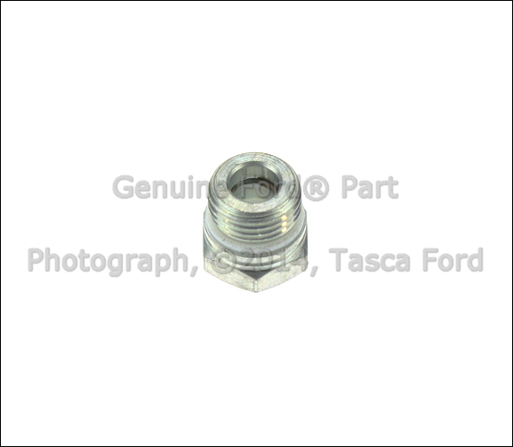 new ford lincoln mercury oem power steering tube connector  f5rz