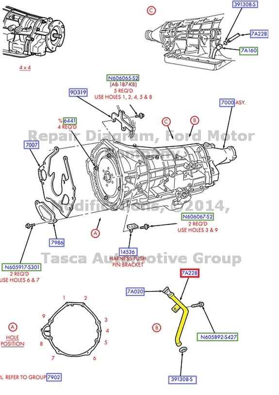 1997 f250 transmission fluid
