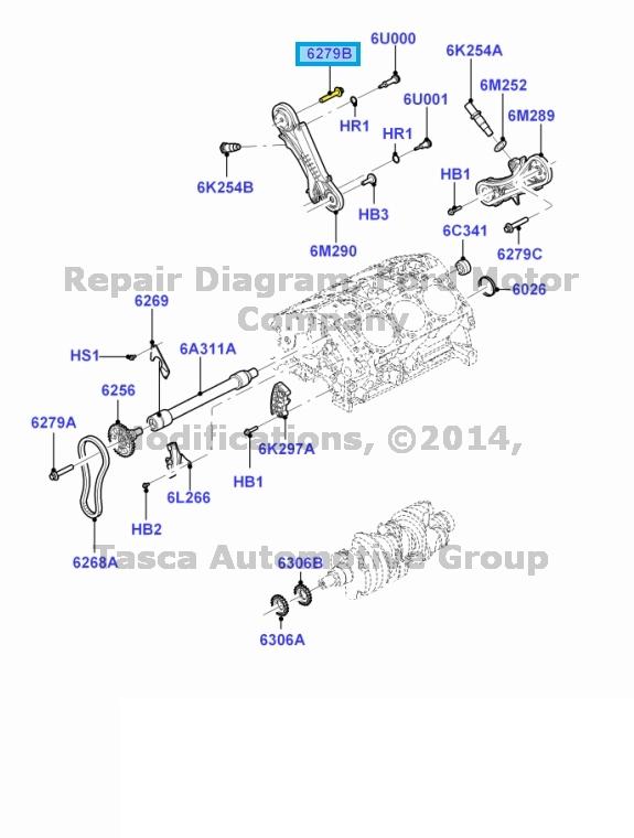 BRAND NEW OEM ENGINE CAMSHAFT SPROCKET BOLT 1997-2010 FORD