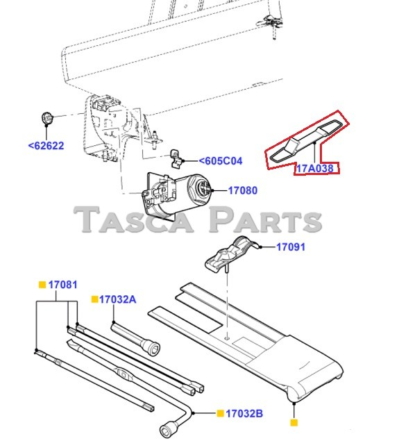 BRAND NEW OEM JACK HANDLE RETAINER 1999-2013 FORD F250