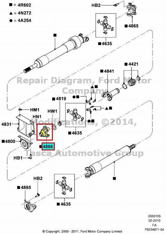 new oem rear axle driveshaft flange ford f250 f350 f450