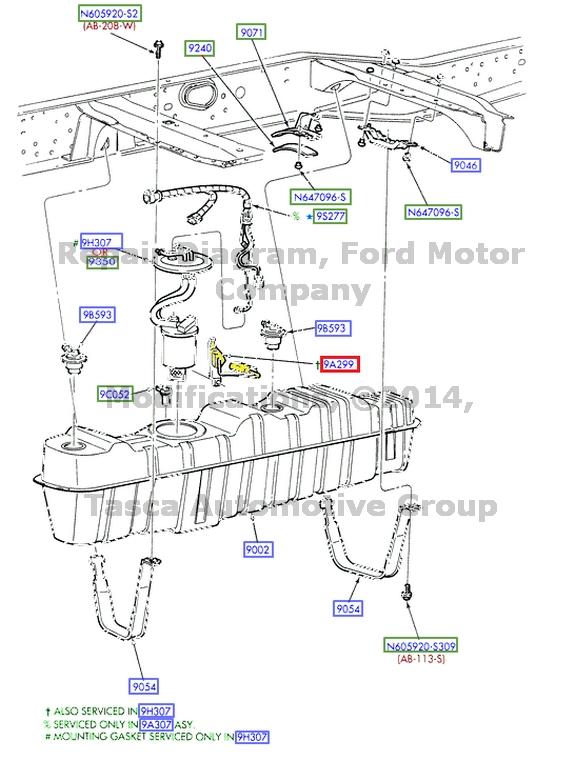 new oem 38 gal mid ship fuel tank sender gauge 2004 ford f250 f350 1997 Ford F-350 Fuel Tank new oem 38 gal mid ship fuel tank
