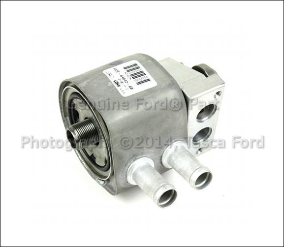 Engine bz Dorman Oil Cooler for Ford F-350 Super Duty 2003-2007 6.0L V8