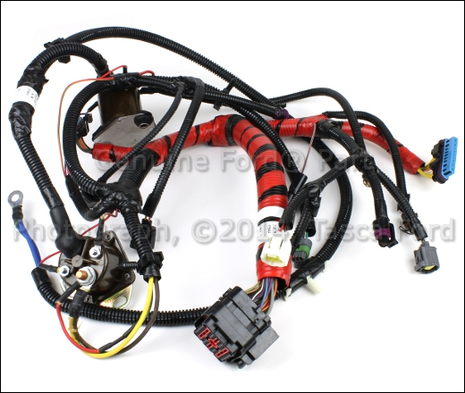 0 brand new ford e series 7 3l v8 oem injector wire harness xc2z 7.3 IDI Engine Wiring Diagram at mifinder.co