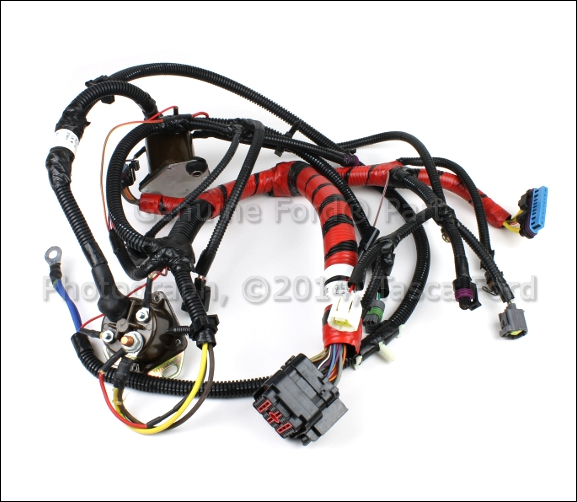 brand new ford e series 7 3l v8 oem injector wire harness. Black Bedroom Furniture Sets. Home Design Ideas