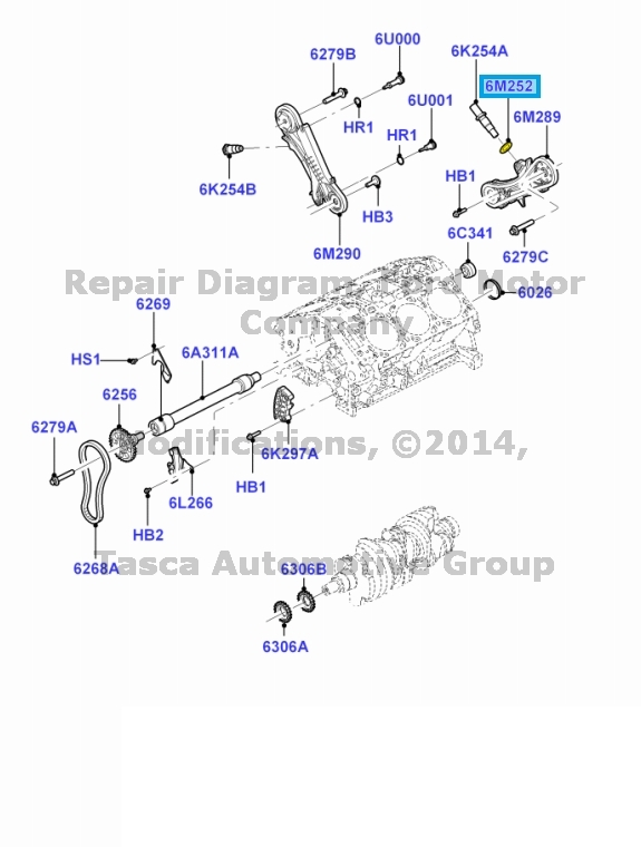 oem 4 0l v6 timing chain tensioner gasket explorer ranger